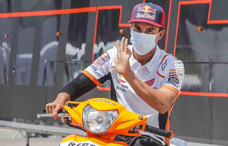 Марк Маркес уверен, что сможет справиться с прототипом MotoGP на Гран-При Андалусии