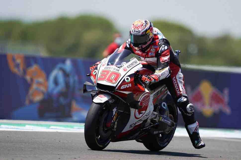 MotoGP: Такааки Накагами дали настройки Маркеса - и он тут же ускорился!