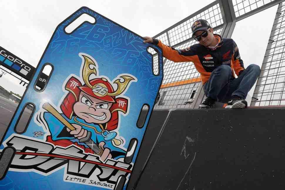 MotoGP: Дани Педроса впервые не получил от Honda никаких обновлений мотоцикла в Silverstone