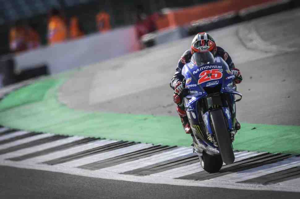 MotoGP: Виньялес и Росси возглавили FP1 BritishGP