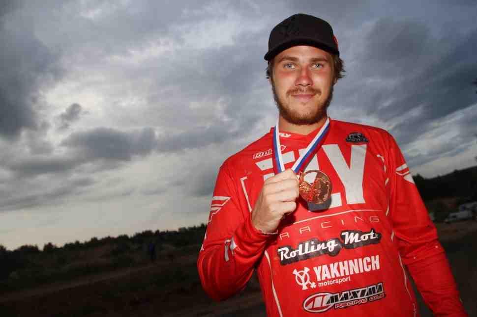 Мотокросс: Максим Назаров - бронзовый призер ЧР 2018