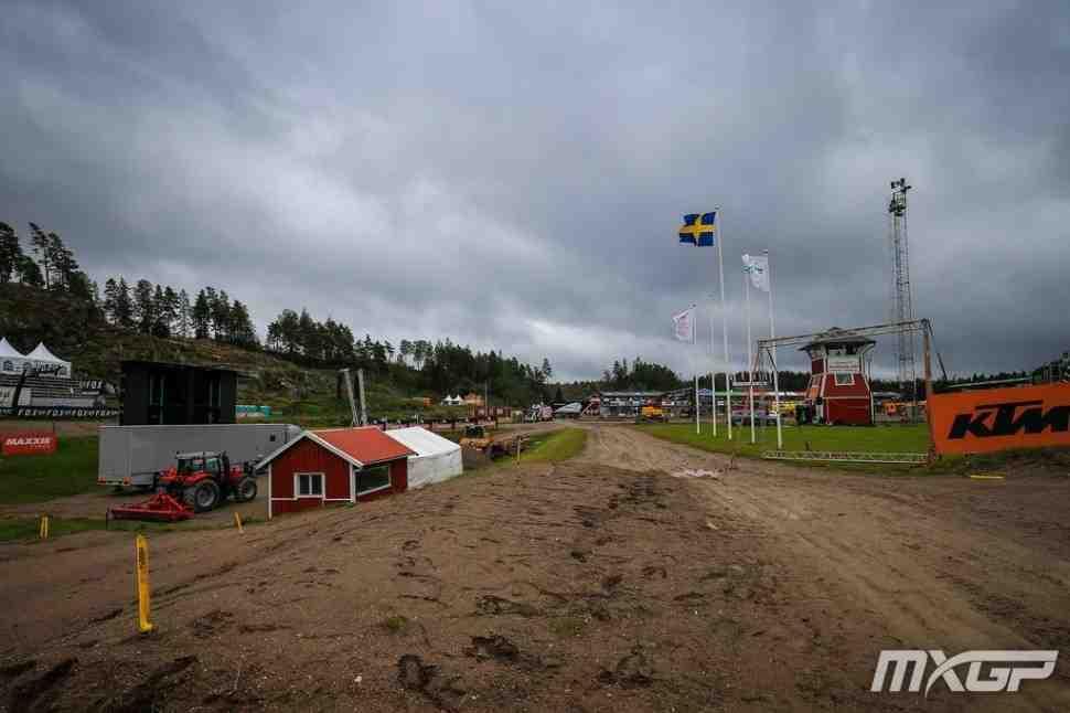 Мотокросс: Швеция встретила чемпионат мира MXGP дождем