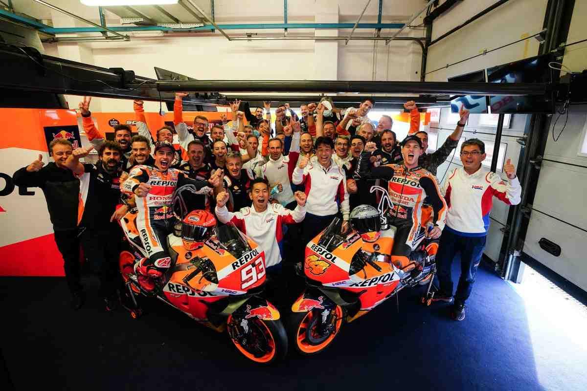 Первый дубль Honda в MotoGP 2021: Марк Маркес - Это был день Фабио, но мы здорово повеселились!