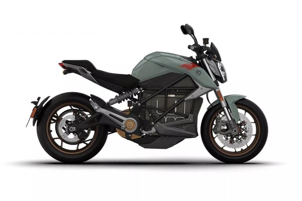 Zero SR/F: еще один электромотоцикл на час