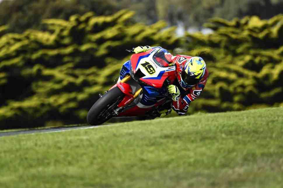 Honda CBR1000RR-R Fireblade SP �������� ����� ������� �� ������ WorldSBK � Phillip Island