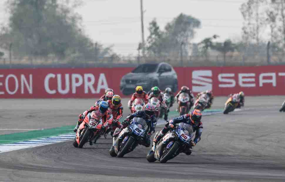 ThaiWorldSBK: Yamaha и Ducati спорят за победу в Бурираме