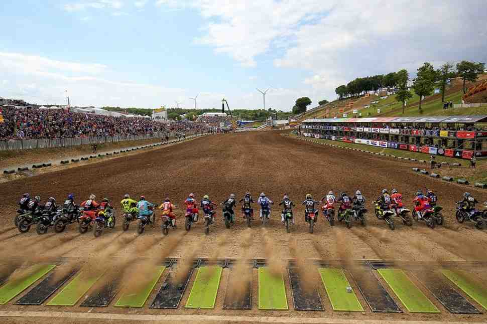 Мотокросс MXGP/MX2: Гран-При Франции, квалификации - видео
