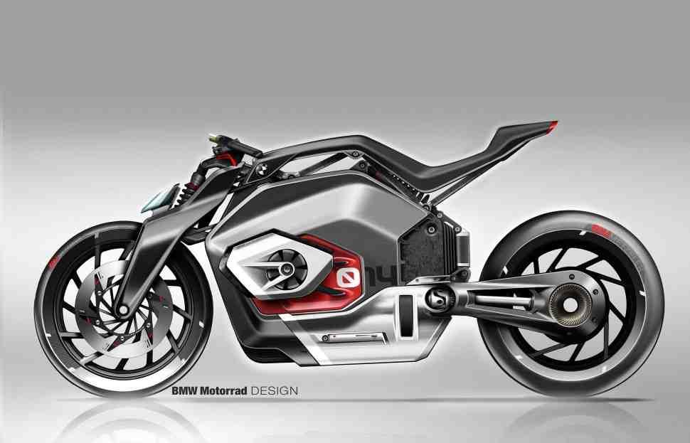 BMW Motorrad представила свое видение будущего электромотоцикла... с двумя «цилиндрами»