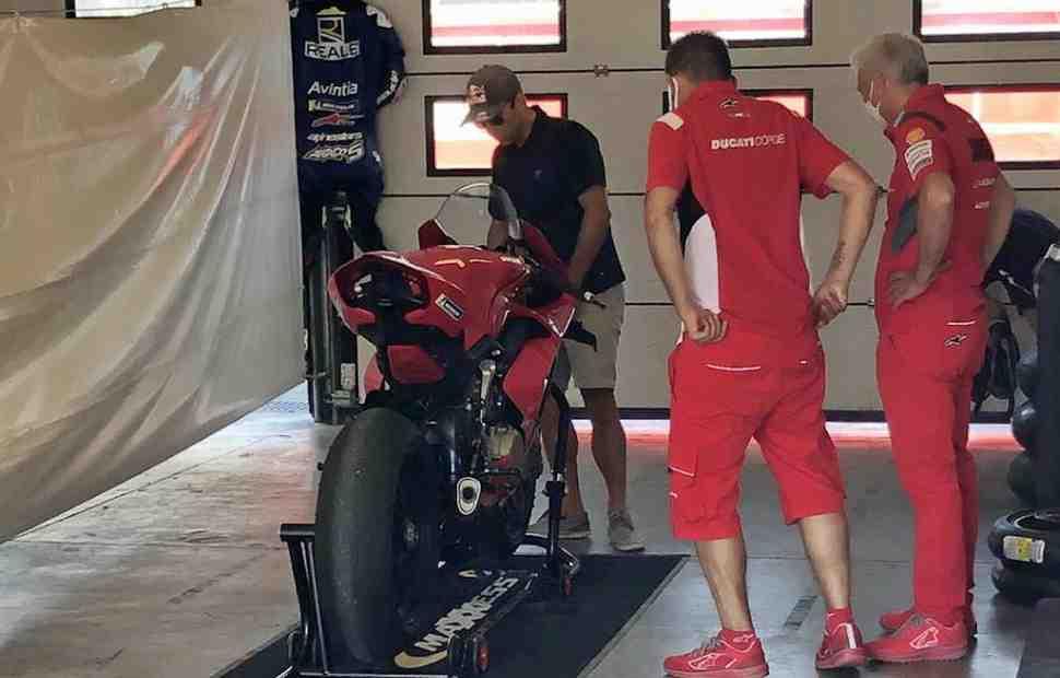 Жоан Зарко прибыл на тесты MotoGP в Мизано