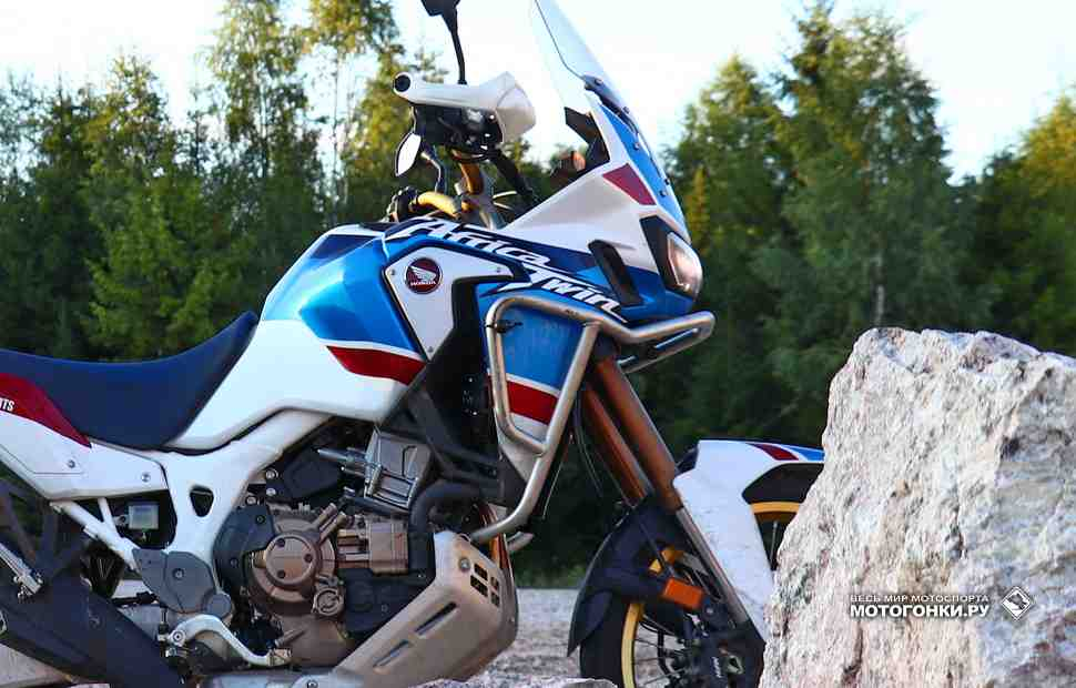 ����� �������� ����������� � ����� Honda Africa Twin CRF1100L SD09 (2020)