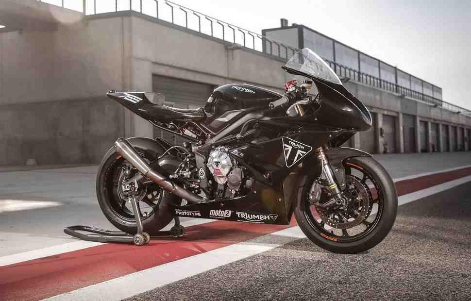 Triumph выпустит лимитированную реплику Daytona 765 с двигателем Moto2