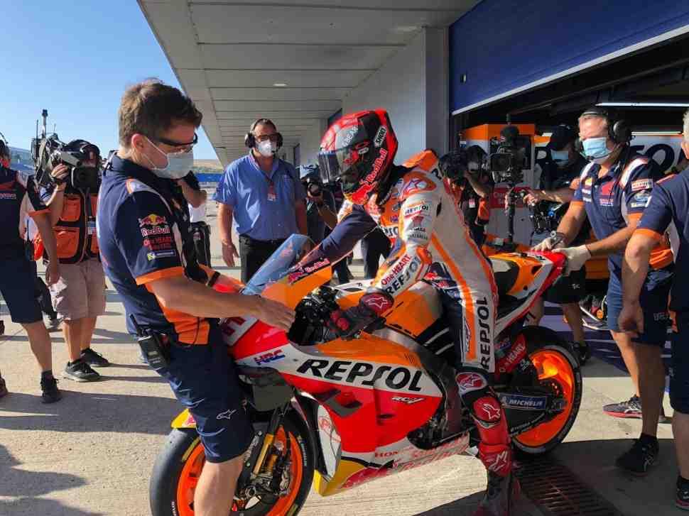 MotoGP - AndalusiaGP: FP3 - Все внимание на Марка Маркеса!