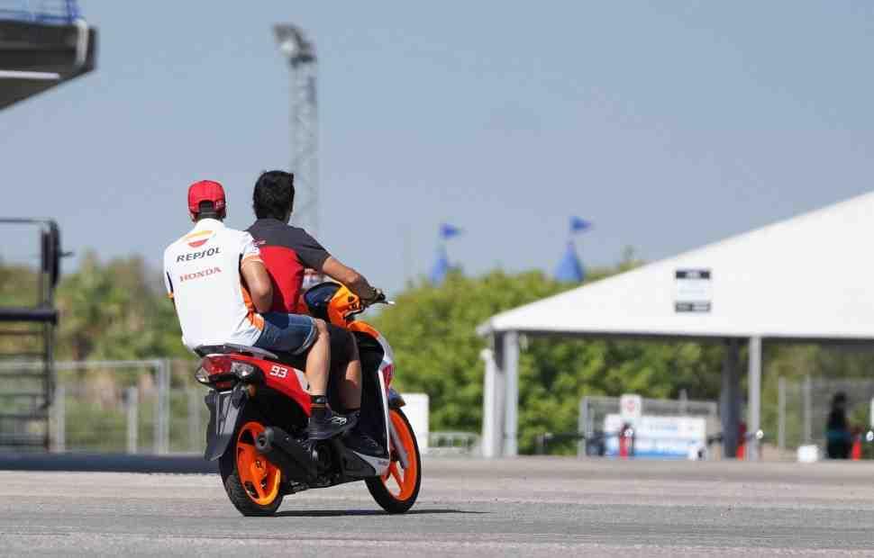 MotoGP: Honda Racing все же остановила неудержимого Маркеса в Андалусии