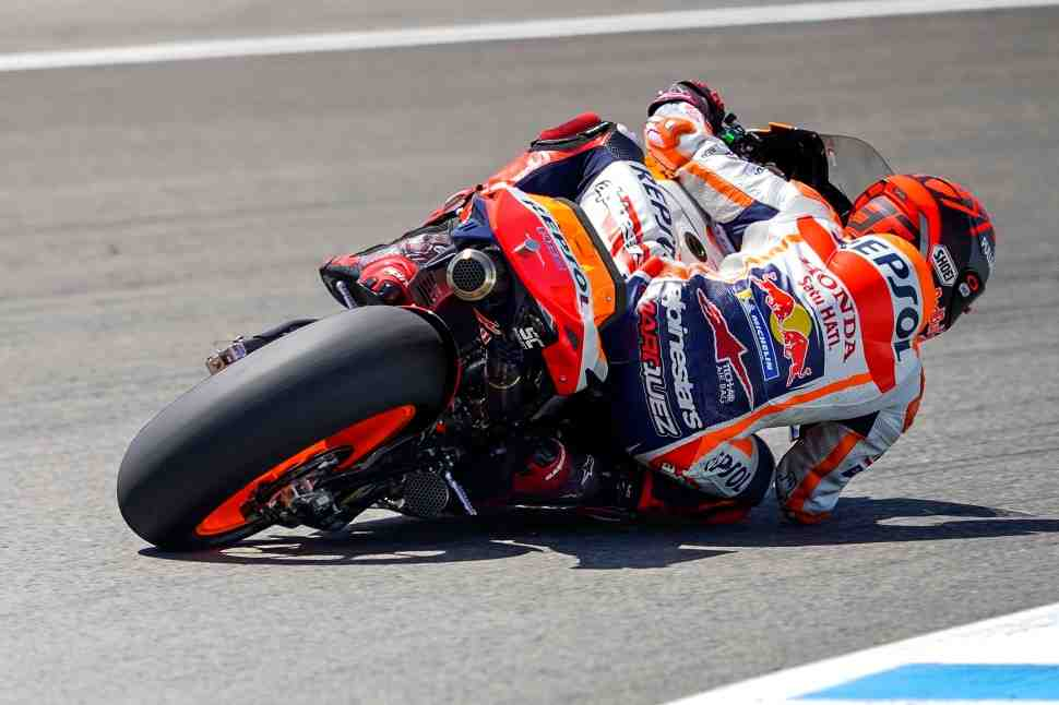 MotoGP: Маркес принял решение продолжать уикенд Гран-При Андалусии после FP3