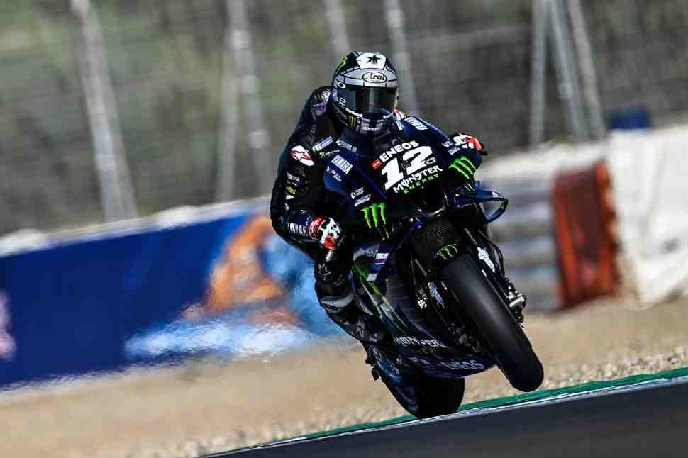 MotoGP: Маверик Виньялес - готов на 100% для схватки за поул и победу в Гран-При Андалусии