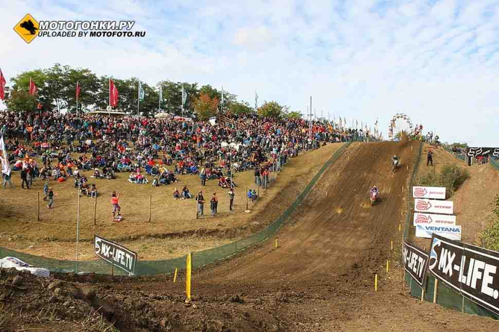 Мотокросс: Гран-При Германии MXGP в Тойчентале - контракт продлен до 2027 года