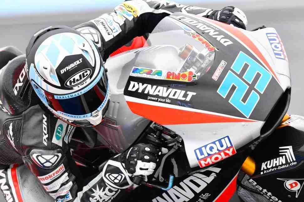 Moto2: Марсель Шрёттер лидирует после FP3 BritishGP - результаты