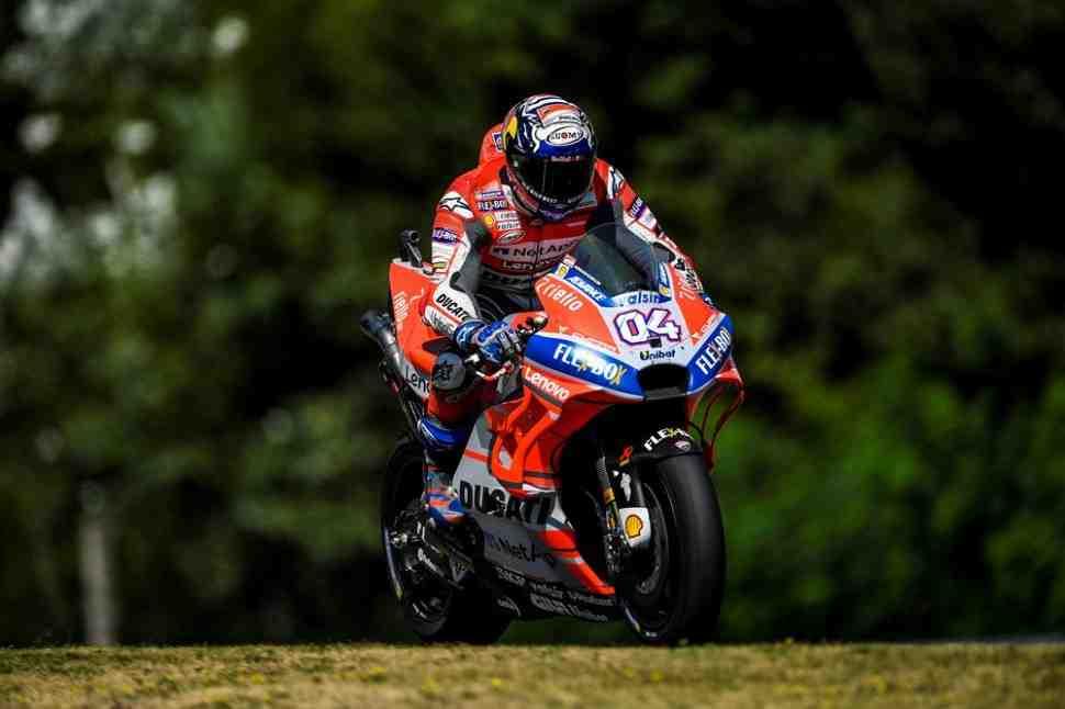 MotoGP: Андреа Довициозо - о новом асфальте Silverstone: ямы и кочки никуда не делись!