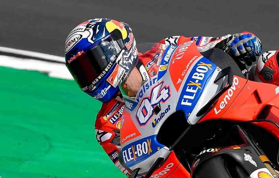 MotoGP: Довициозо - Очень важно начать завтрашнюю гонку с первой линии