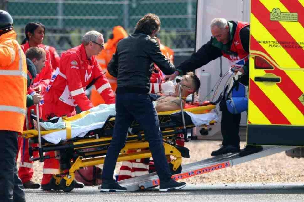 MotoGP: Тито Рабат получил серьезные травмы на BritishGP и готовится к срочной операции