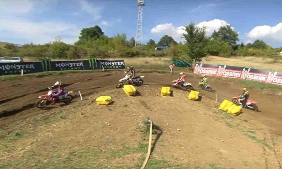 Мотокросс: видео квалификаций Гран-При Болгарии MXGP/MX2