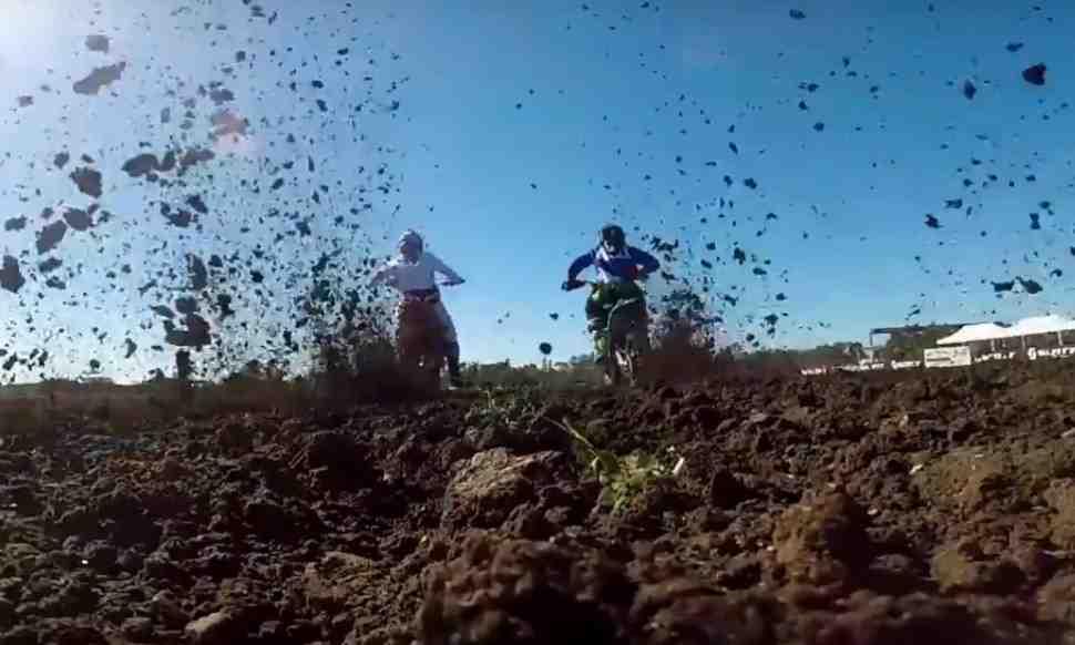 Трасса юниорского чемпионата Мира по мотокроссу 2018 - видео из Horsham