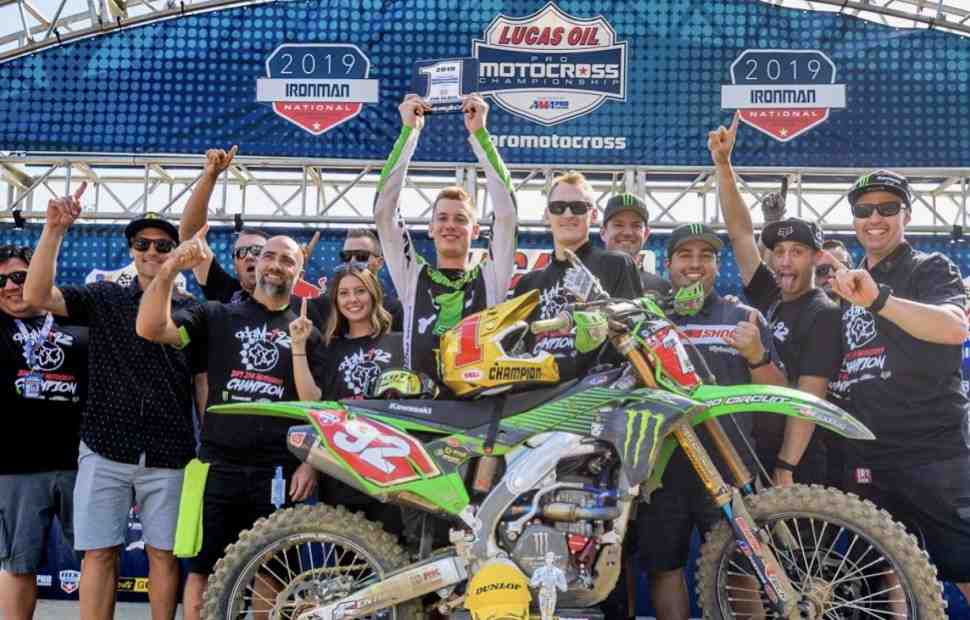 AMA Motocross: Адам Сиансиаруло - чемпион AMA PRO в классе 250MX