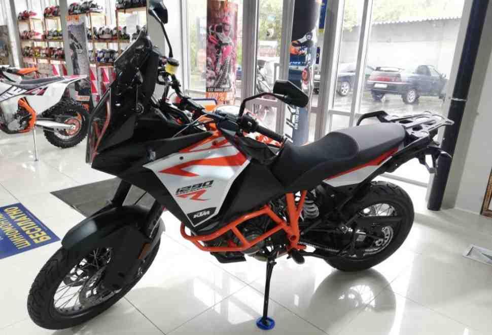 На новые мотоциклы KTM -10% в Байк Ленде!