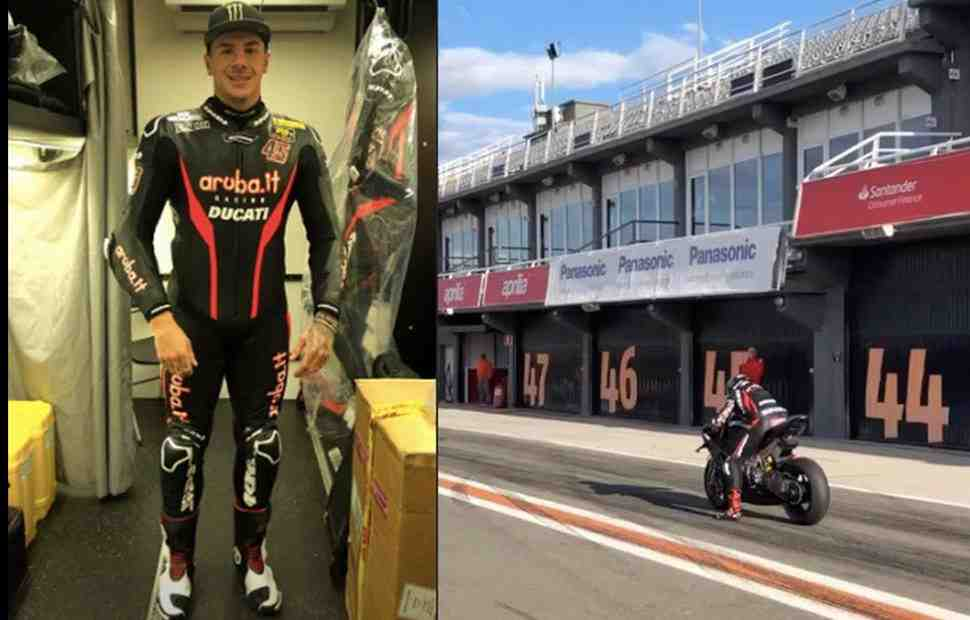 ����� ������� ��������� � ������ � Aruba.it Racing Ducati World Superbike: ������ ����� � ��������