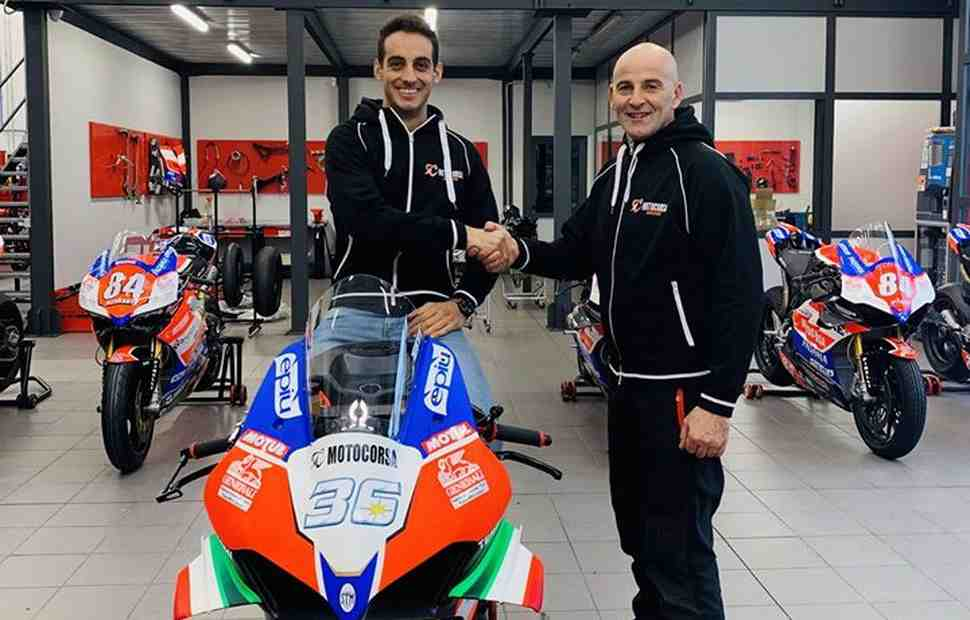 ����� ������� �������� � World Superbike: Team Motocorsa Racing ��������� ���� �������