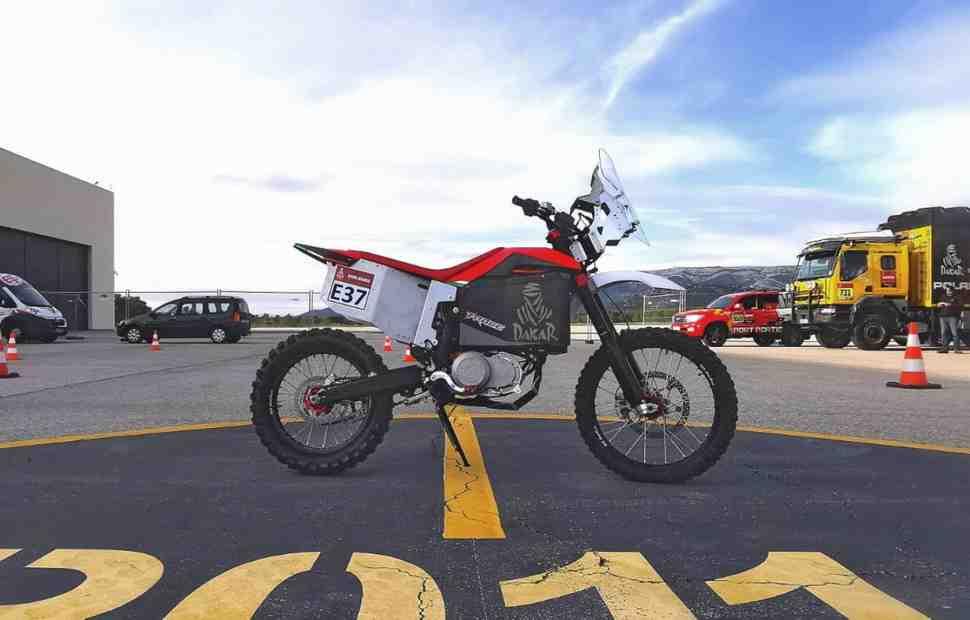 Производитель электромотоциклов Tacita представит раллийную модель на Дакаре 2020