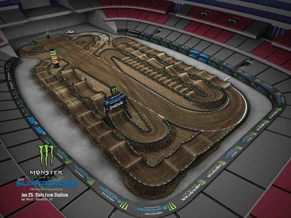 Первый Triple Crown AMA Supercross 2020 в Глендейле: Видео - 450SX Main Event - 1 заезд