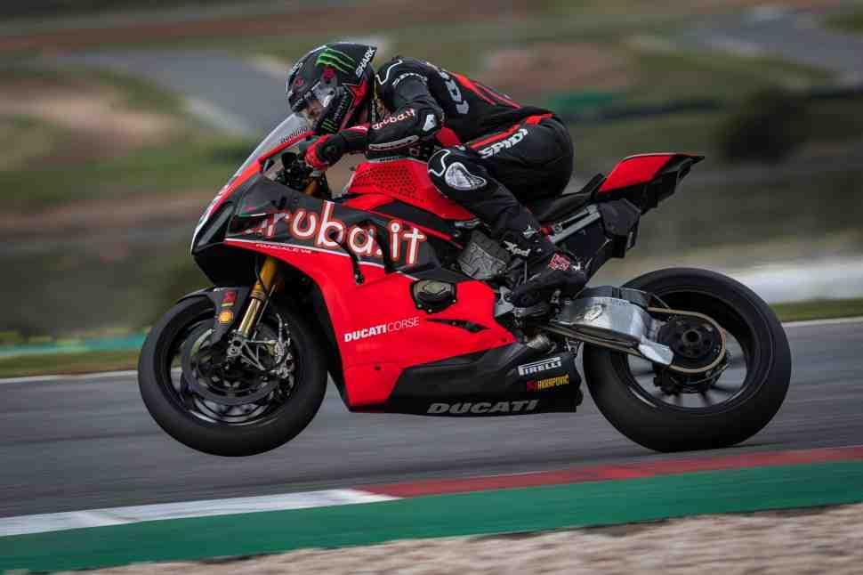 �������� ������� ������� Ducati �� ������ ������� � ������������� ������ WorldSBK