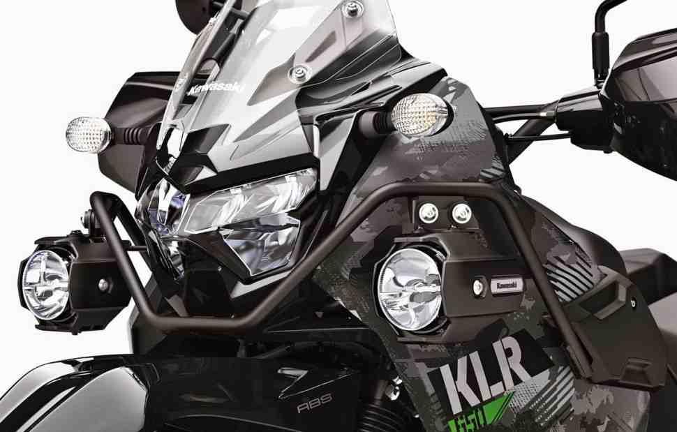 Kawasaki KLR650 � KLR650 Adventure �������� � 2022 ����: ���� � �����