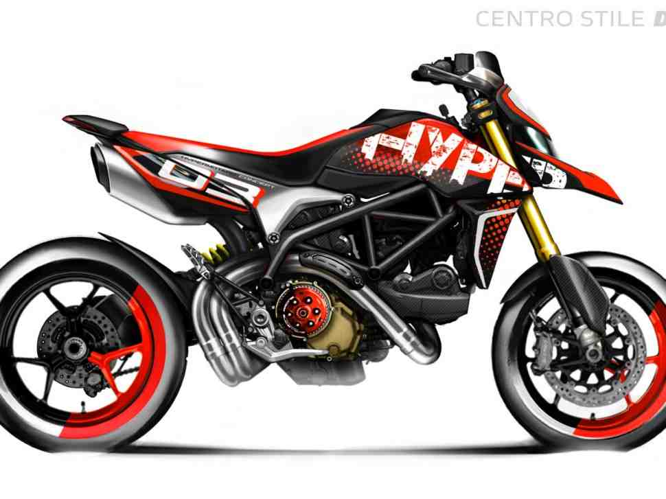 Концепт Ducati Hypermotard 950 выиграл Гран-При Concorso d′Eleganza Villa d′Este 2019