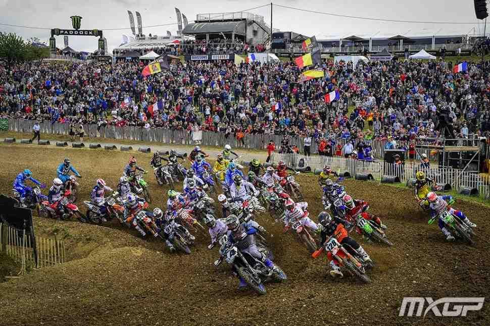 Мотокросс MXGP/MX2: Тим Гайзер и Яго Гиртс - победители первых заездов Гран-При Франции