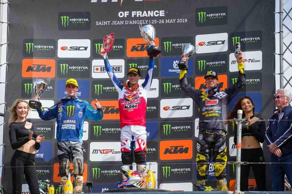 Мотокросс: результаты Гран-При Франции MXGP/MX2