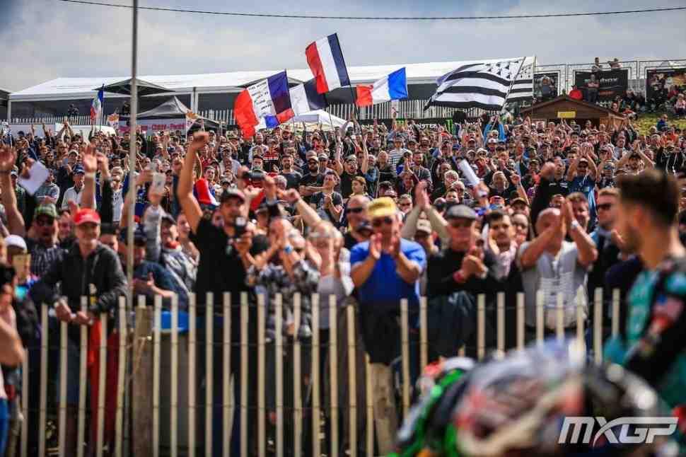 Мотокросс: видео заездов Гран-При Франции MXGP/MX2