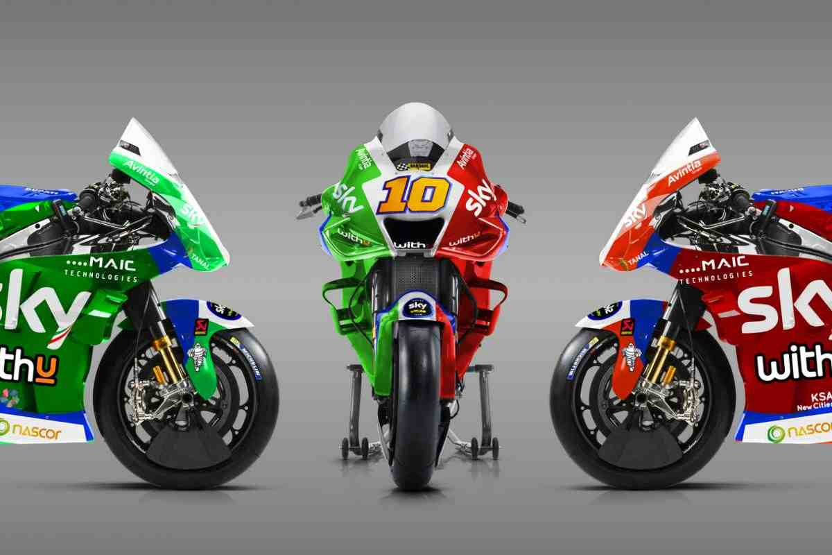 Tricolore Speziale от Sky VR46 Avintia на домашнем Гран-При по MotoGP