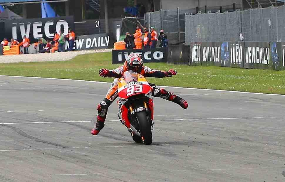 MotoGP на пути в Ассен: Маркес видит 2-3 пилотов, которые еще могут навязать борьбу за титул
