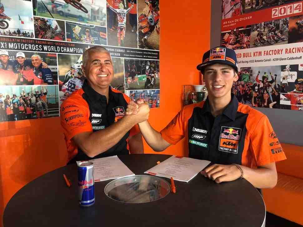 Мотокросс: у Хорхе Прадо новый контракт - в MXGP он перейдет с Red Bull KTM