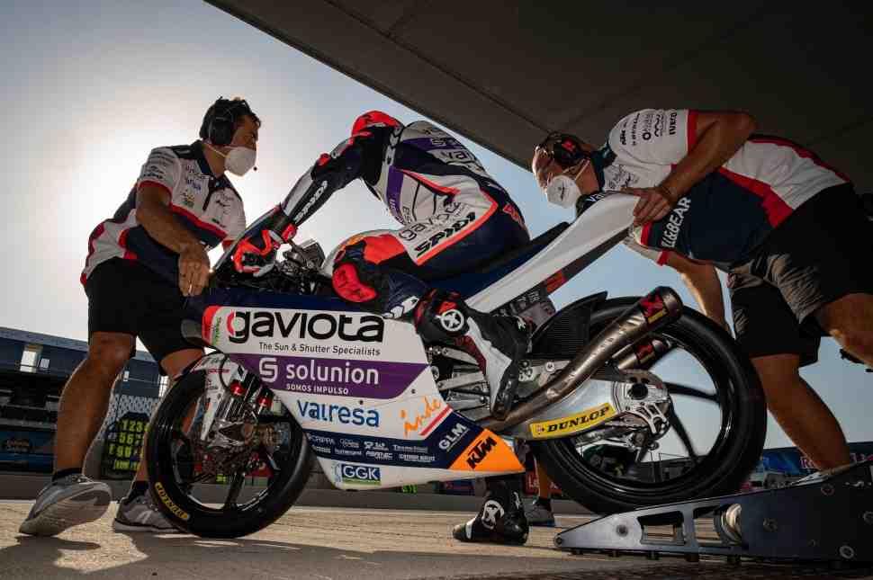 Лидер чемпионата мира по Мото Гран-При в классе Moto3 выбыл из Гран-При Андалусии с травмой