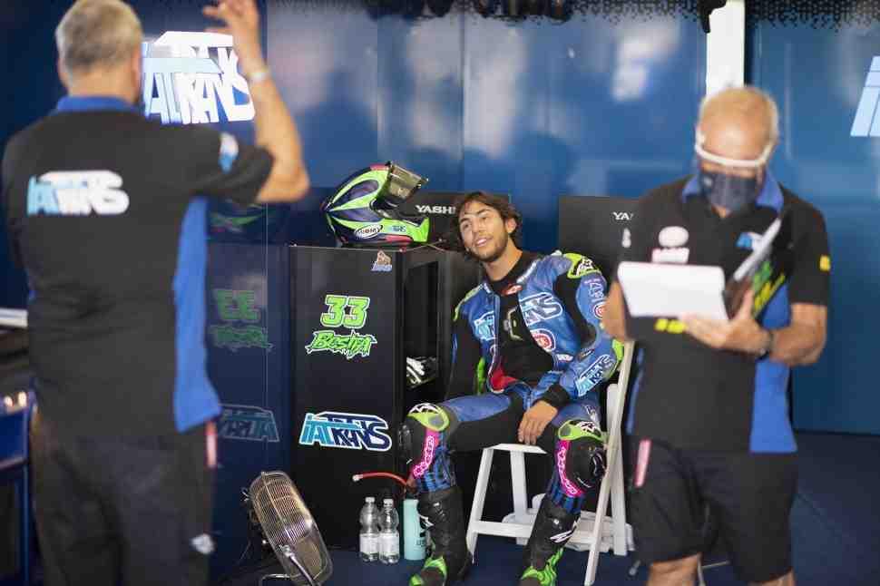 Moto2: Бастианини выигрывает AndalusianGP - результаты