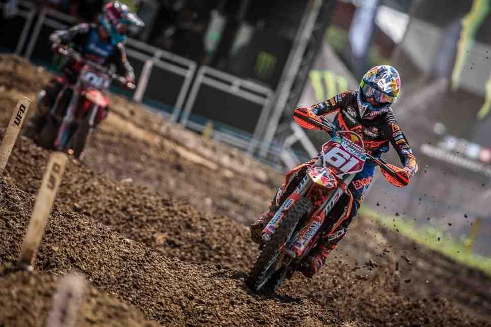 Мотокросс MX2: победа Хорхе Прадо - результаты Гран-При Болгарии