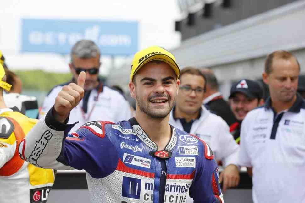 Романо Фенати назван первым пилотом заводской команды MV Agusta в Moto2