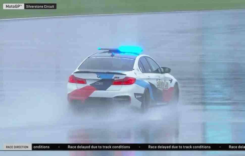 Старт Гран-При Британии по MotoGP отложен: риск отмены гонки высок