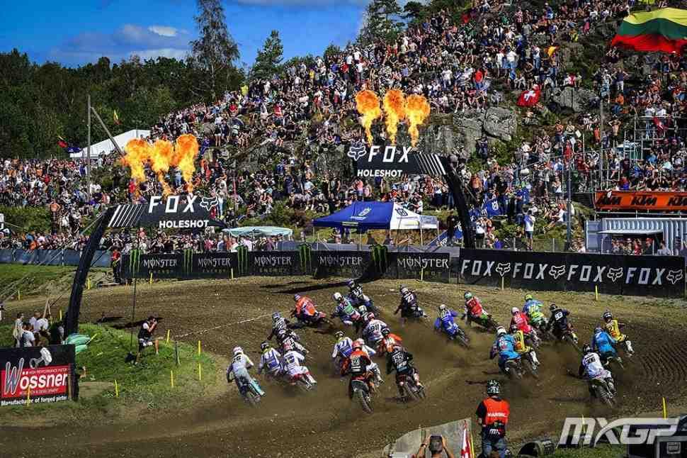 Мотокросс: 2-й заезд Гран-При Швеции MXGP