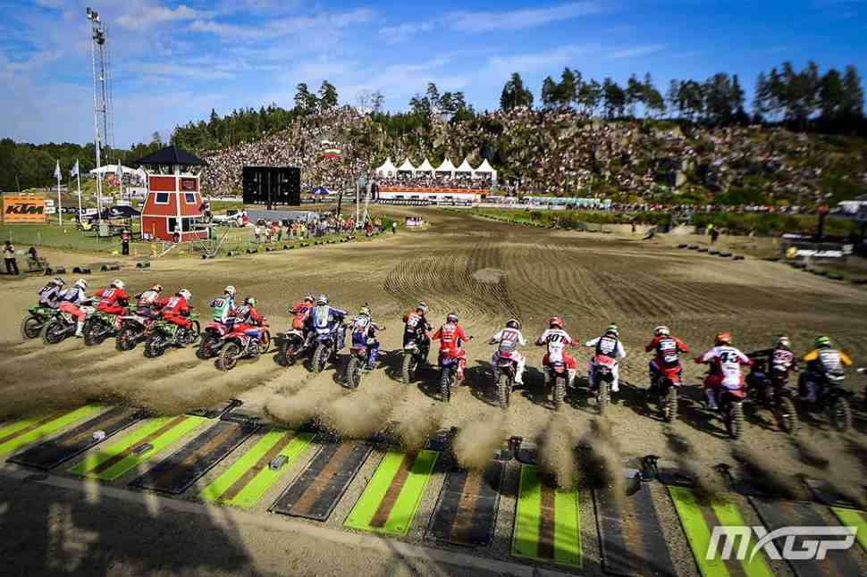 Мотокросс: Гран-При Швеции MXGP/MX2 - комментарии с подиума