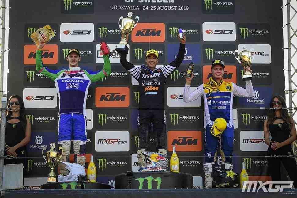 Мотокросс: результаты 16 этапа чемпионата Мира MXGP/MX2, Швеция
