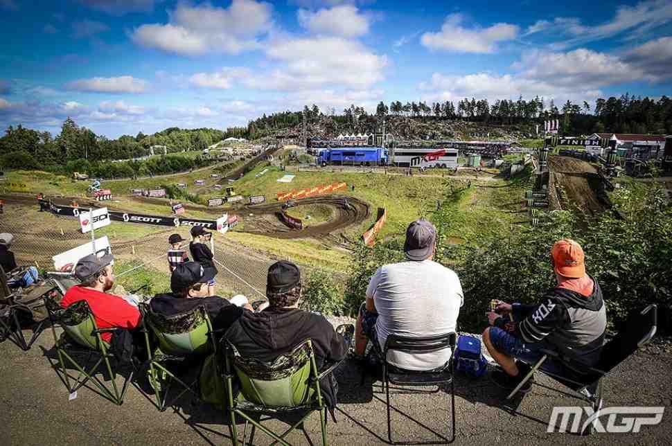 Мотокросс: видео Гран-При Швеции MXGP/MX2